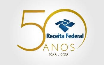 Receita Federal inicia comemorações de seus 50 anos